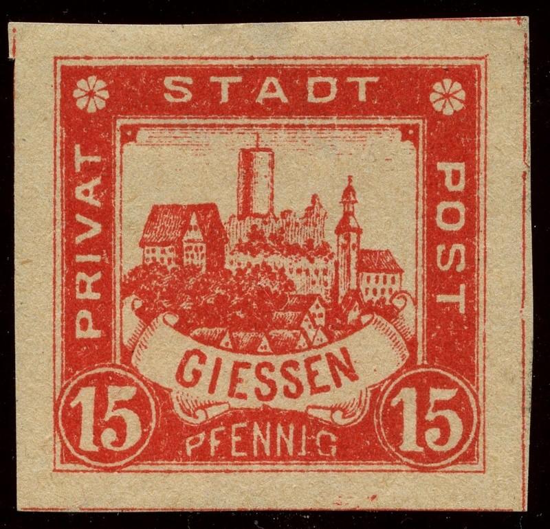 Deutsche Privatpostmarken um 1900  20_ges10