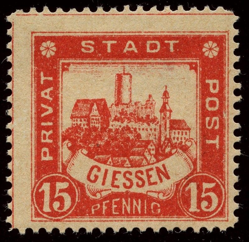 Deutsche Privatpostmarken um 1900  20_gez10