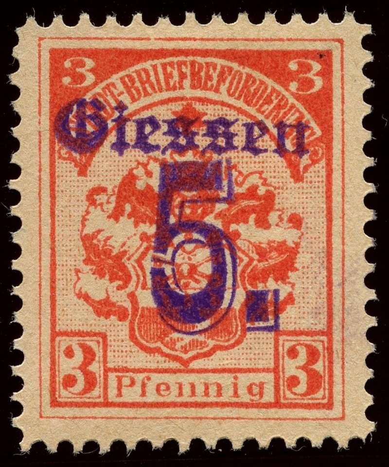 Deutsche Privatpostmarken um 1900  3b_auf10