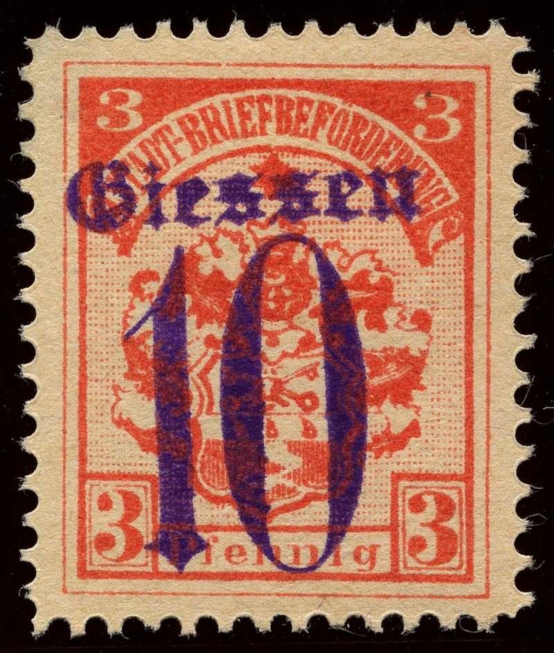 Deutsche Privatpostmarken um 1900  4b_auf10