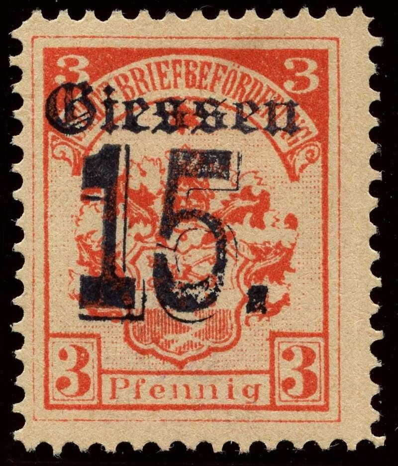 Deutsche Privatpostmarken um 1900  5a_auf10