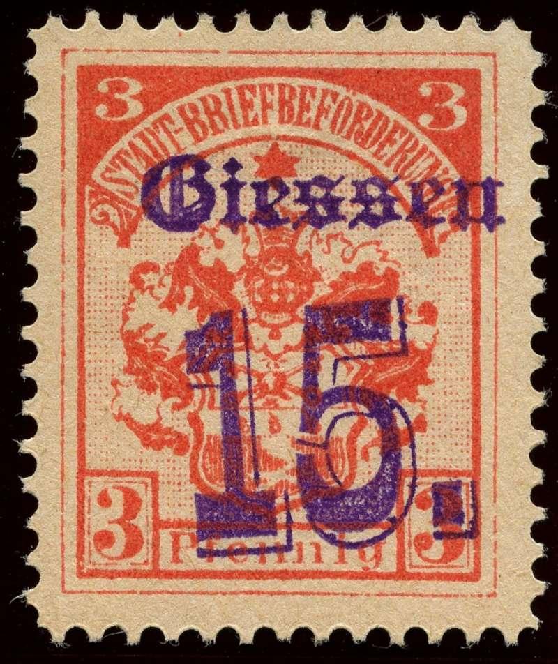 Deutsche Privatpostmarken um 1900  5b_auf10