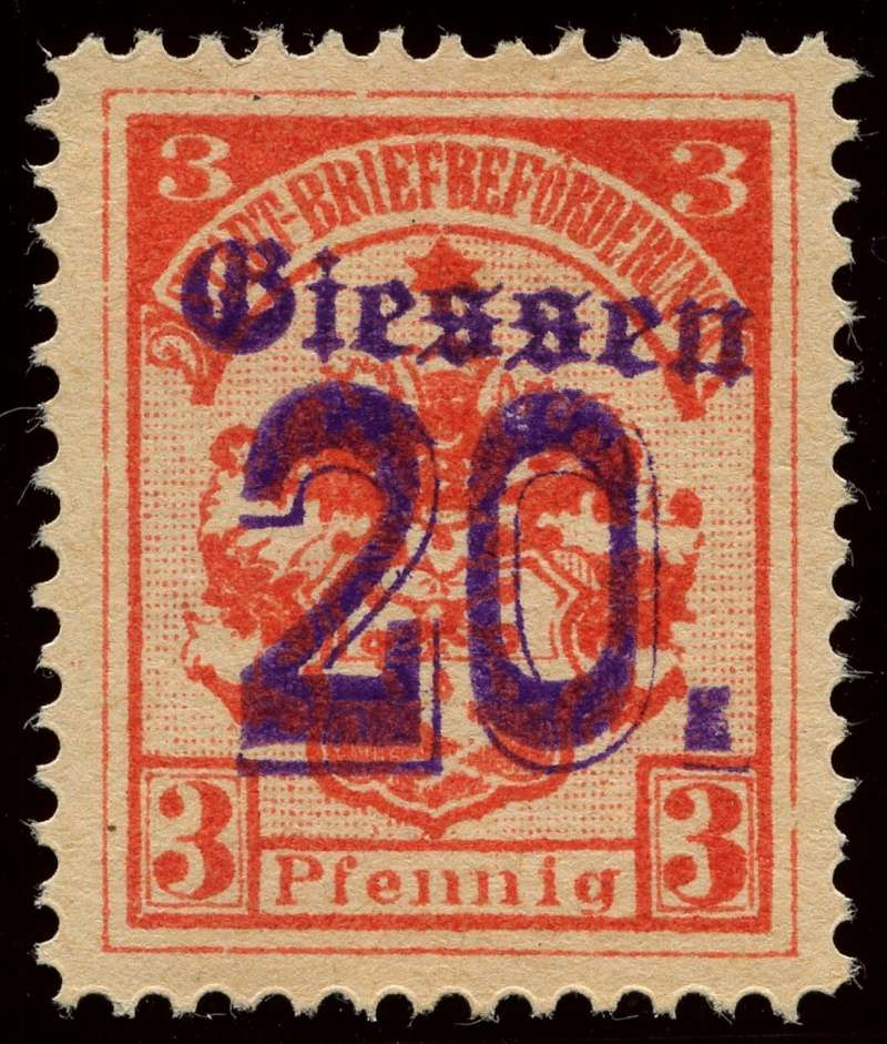 Deutsche Privatpostmarken um 1900  6b_auf10