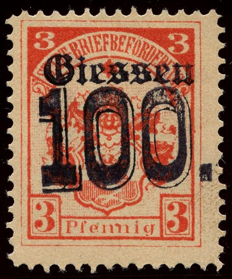 Deutsche Privatpostmarken um 1900  7a_auf10