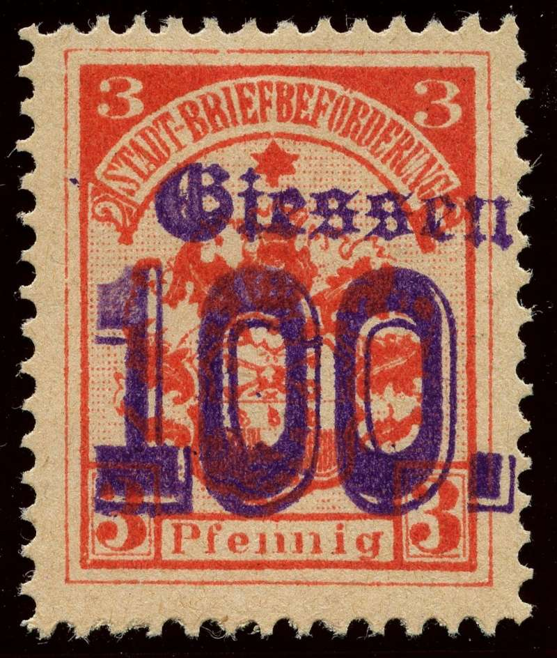 Deutsche Privatpostmarken um 1900  7b_auf10