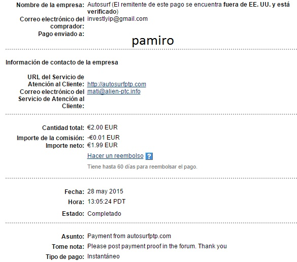 My 2sc payment thanks admin  Autosu10