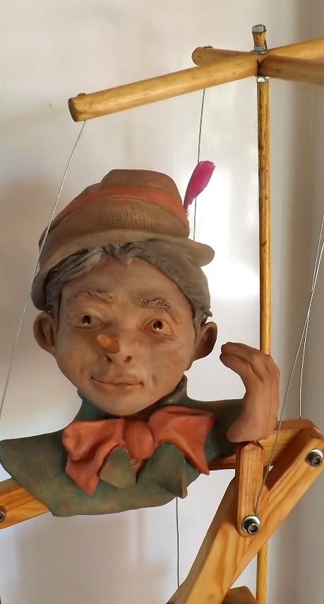 """""""Pinocchio""""  Pas a pas en temps réel... 02310"""