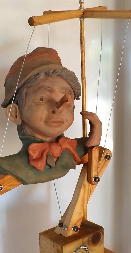 """""""Pinocchio""""  Pas a pas en temps réel... 02510"""