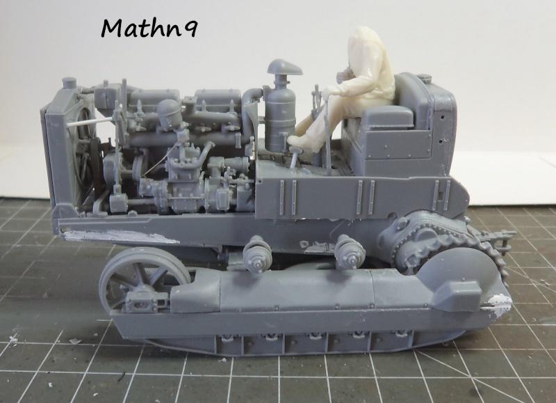 US Army Tractor Dozer Blade [Miniart 1/35] -Terminé- Dsc03255