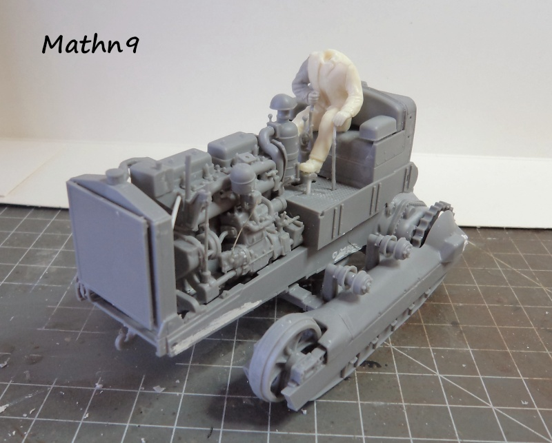 US Army Tractor Dozer Blade [Miniart 1/35] -Terminé- Dsc03256