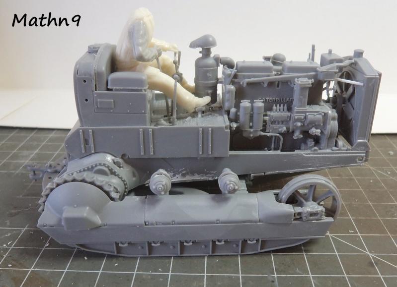 US Army Tractor Dozer Blade [Miniart 1/35] -Terminé- Dsc03257