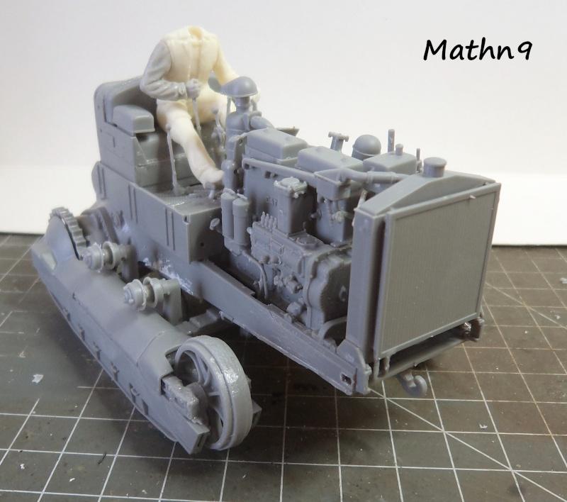 US Army Tractor Dozer Blade [Miniart 1/35] -Terminé- Dsc03258