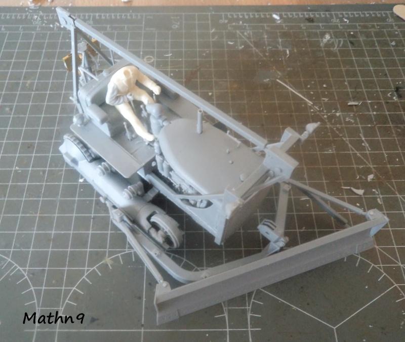 US Army Tractor Dozer Blade [Miniart 1/35] -Terminé- Dsc03260