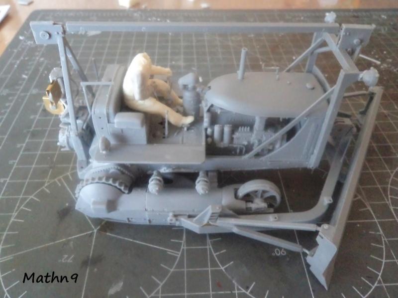 US Army Tractor Dozer Blade [Miniart 1/35] -Terminé- Dsc03261