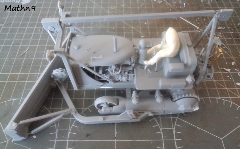 US Army Tractor Dozer Blade [Miniart 1/35] -Terminé- Dsc03263