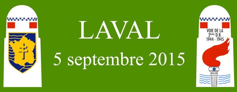 Borne du serment de Koufra: LAVAL (53) Bandea12