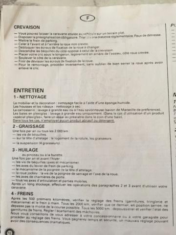 Différents documents sur pliantes U31 et U33 97061010
