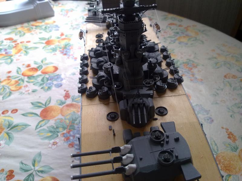 Cuirassé Yamato par Pascal 72 de Tamiya au 1/350 1010