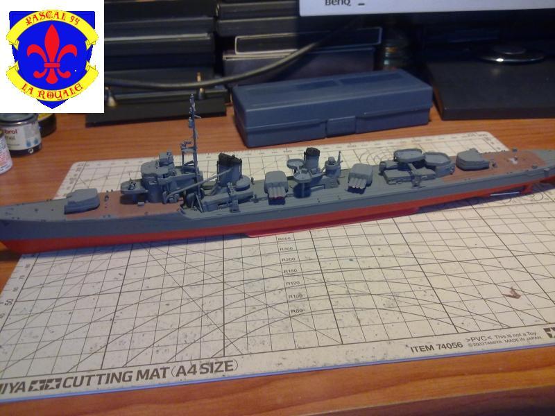Destroyer Yukikaze par Pascal 72 au 1/350 de Hasagawa 1014