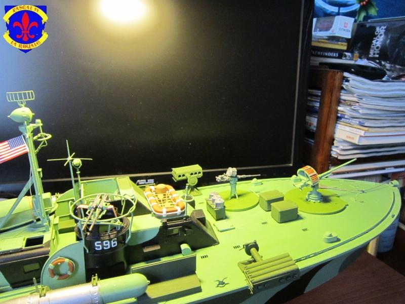 Elco 80 Torbedo boat par Pascal 72 Italeri au 1/35 10210