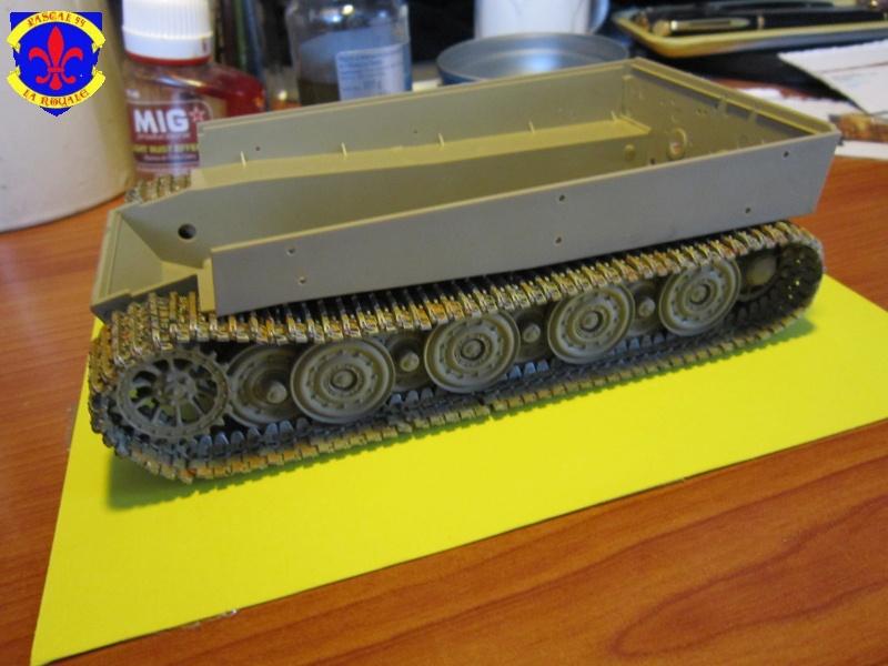 SD.KFZ.181 Tigre I de Tamiya au 1/35 par Pascal 72 1027
