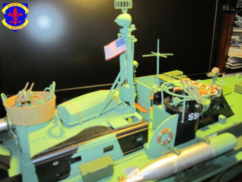 Elco 80 Torbedo boat par Pascal 72 Italeri au 1/35 10610