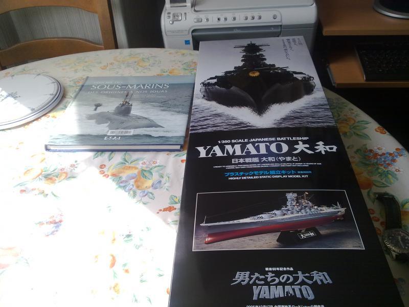 Cuirassé Yamato par Pascal 72 de Tamiya au 1/350 111