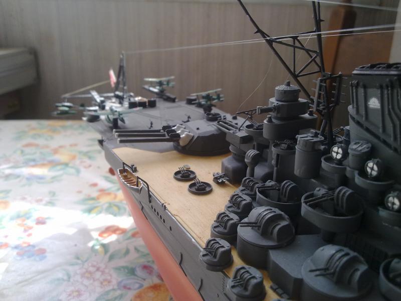 Cuirassé Yamato par Pascal 72 de Tamiya au 1/350 1110