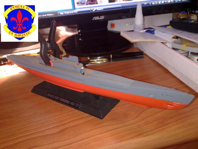 sous marin I-400  de Tamiya par pascal 72 au 1/350 1117