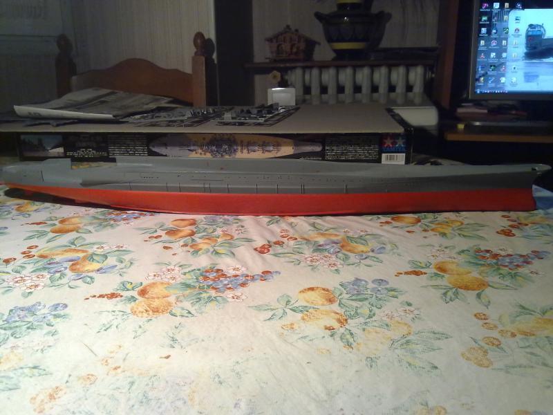 Cuirassé Yamato par Pascal 72 de Tamiya au 1/350 112