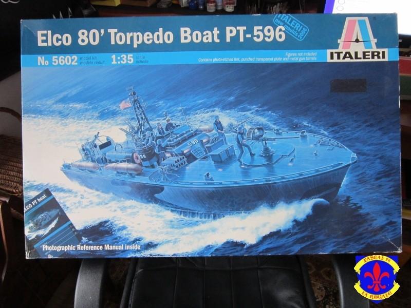 Elco 80 Torbedo boat par Pascal 72 Italeri au 1/35 119