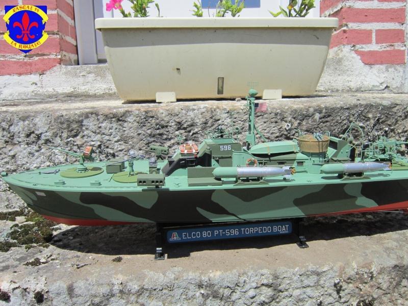 Elco 80 Torbedo boat par Pascal 72 Italeri au 1/35 120