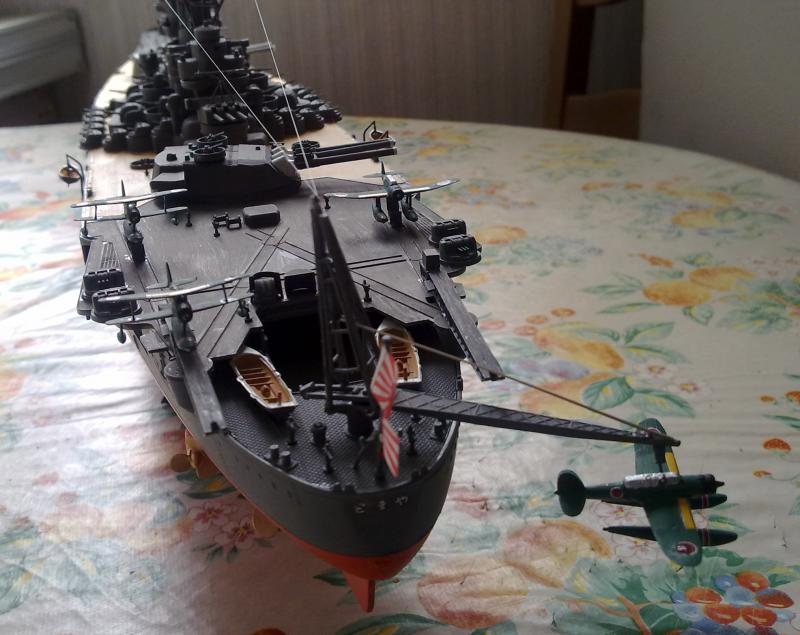 Cuirassé Yamato par Pascal 72 de Tamiya au 1/350 1210