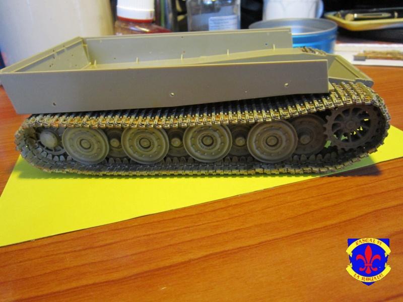 SD.KFZ.181 Tigre I de Tamiya au 1/35 par Pascal 72 1226