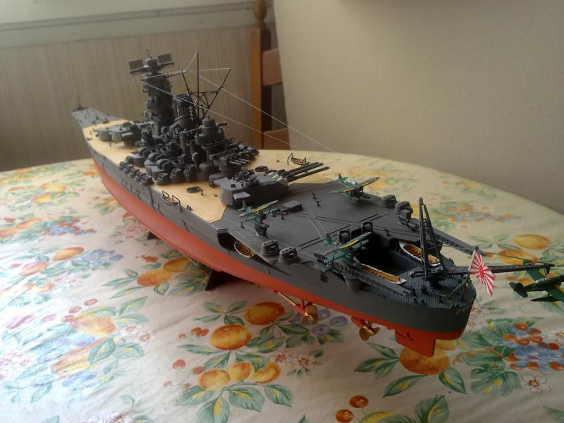 Cuirassé Yamato par Pascal 72 de Tamiya au 1/350 1310
