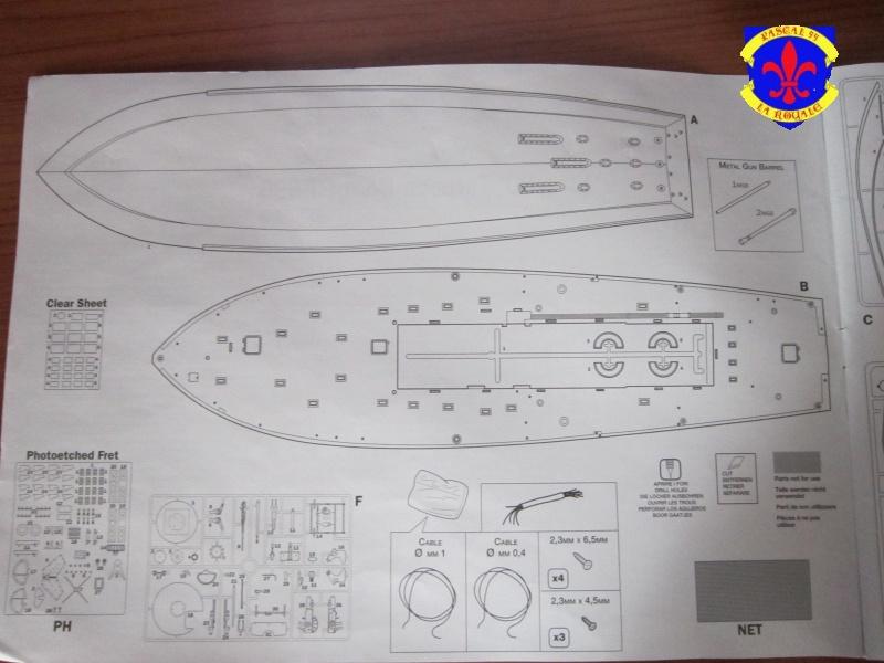 Elco 80 Torbedo boat par Pascal 72 Italeri au 1/35 1316