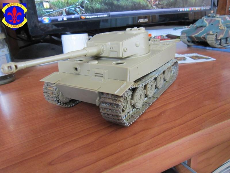 SD.KFZ.181 Tigre I de Tamiya au 1/35 par Pascal 72 1325