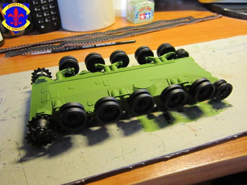 AMX 30 AUF1 au 1/35 d'Heller par Pascal 72 1333