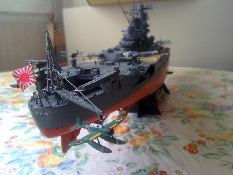 Cuirassé Yamato par Pascal 72 de Tamiya au 1/350 1410