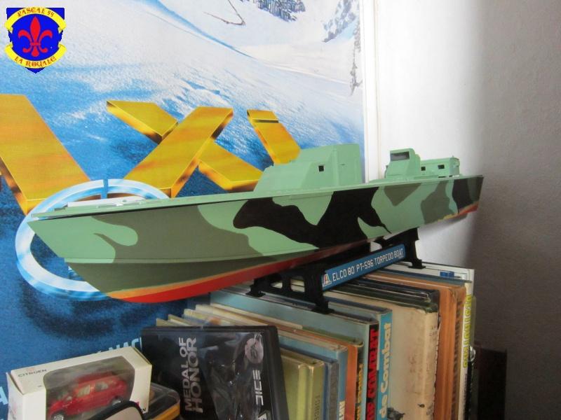 Elco 80 Torbedo boat par Pascal 72 Italeri au 1/35 1417