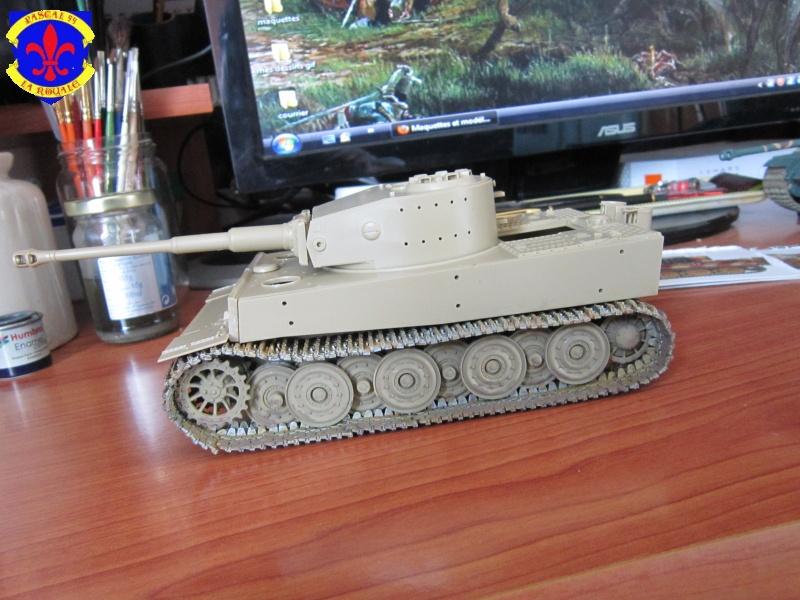 SD.KFZ.181 Tigre I de Tamiya au 1/35 par Pascal 72 1425