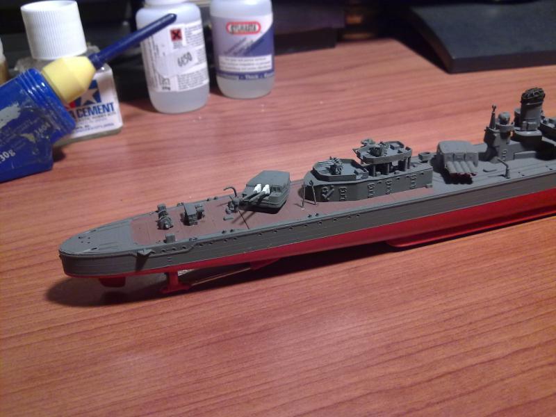 Destroyer Yukikaze par Pascal 72 au 1/350 de Hasagawa 1512
