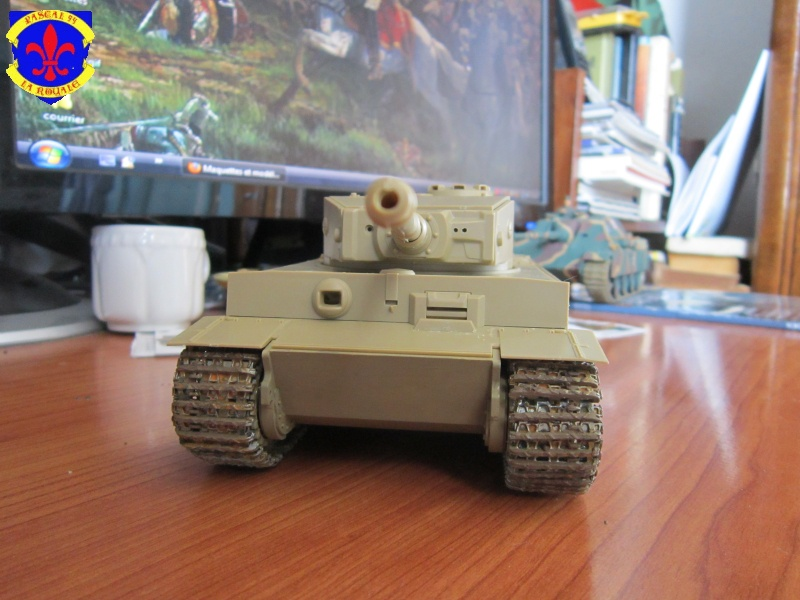 SD.KFZ.181 Tigre I de Tamiya au 1/35 par Pascal 72 1524