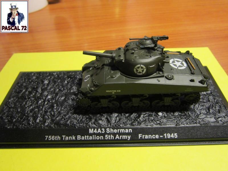 Char Sherman M4A3 du 756 bataillon 160