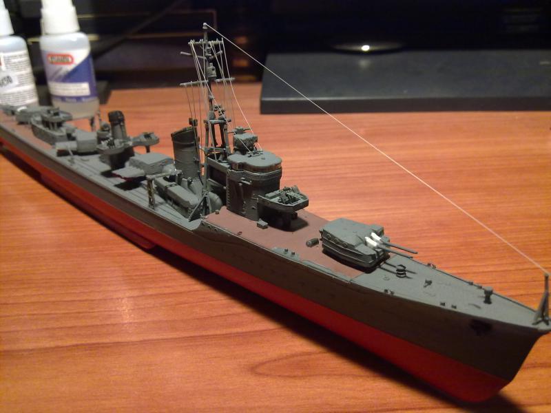Destroyer Yukikaze par Pascal 72 au 1/350 de Hasagawa 1611