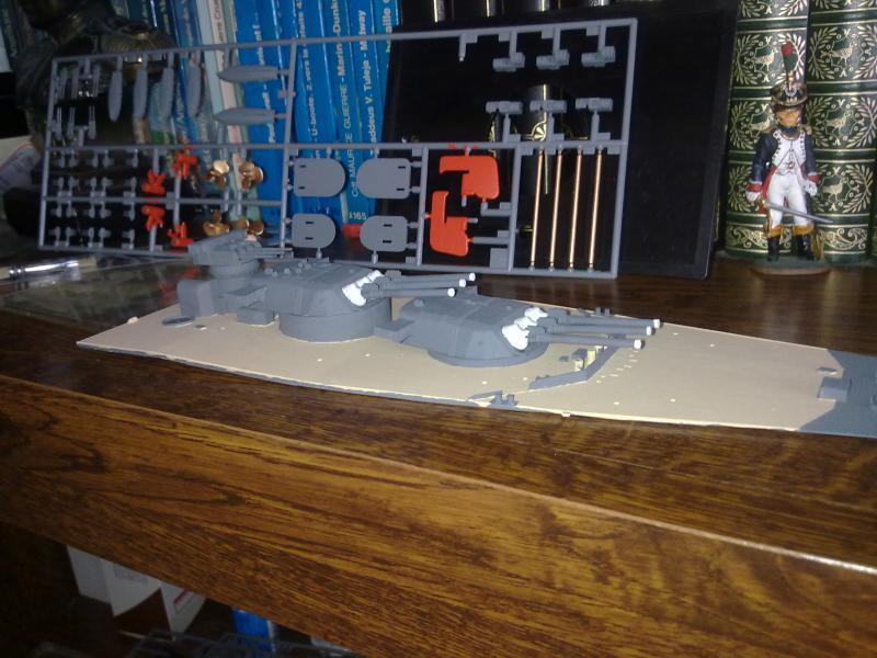 Cuirassé Yamato par Pascal 72 de Tamiya au 1/350 1910