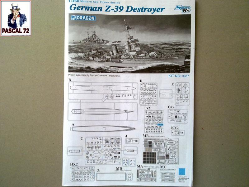 Destroyer Z-39 de Dragon par pascal 72 au 1/350 1_110