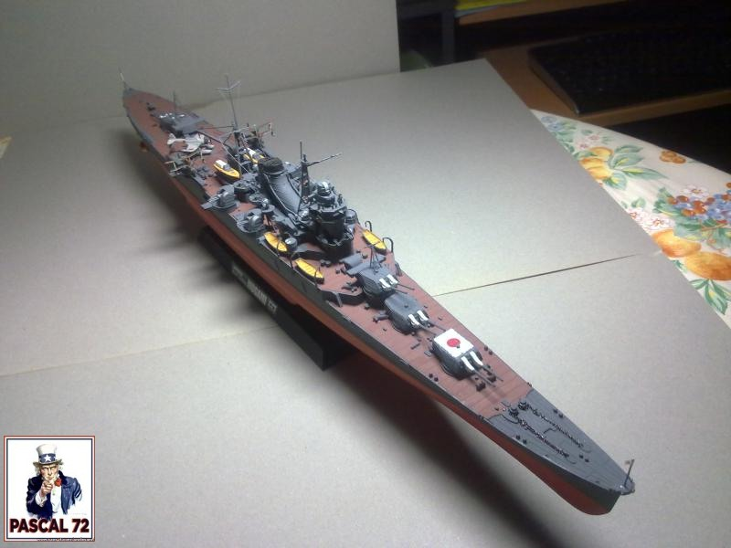 Croiseur lourd Mogami par Pascal 94 de Tamiya au 1/350 1_112