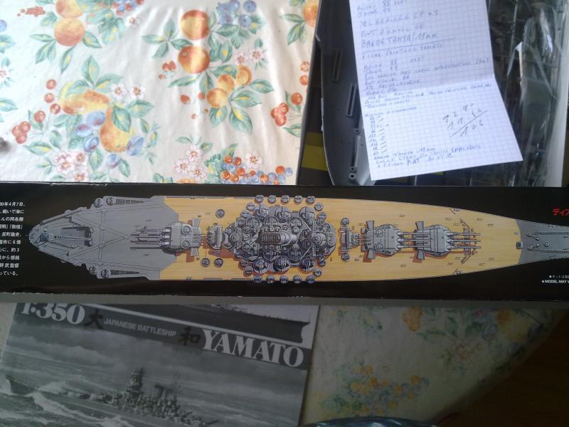 Cuirassé Yamato par Pascal 72 de Tamiya au 1/350 211