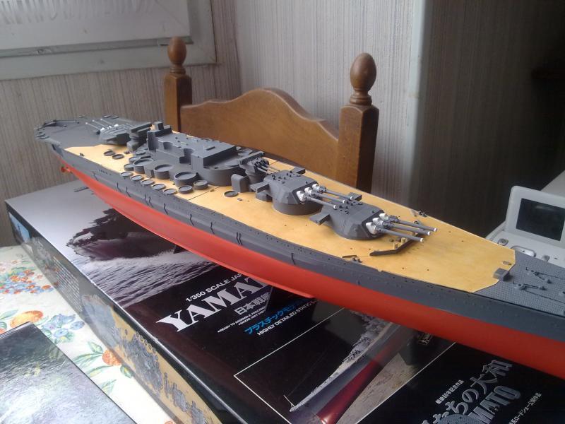 Cuirassé Yamato par Pascal 72 de Tamiya au 1/350 2110